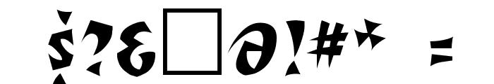 Romulan Regular Font OTHER CHARS