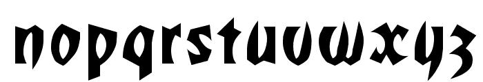 Romulan Regular Font LOWERCASE