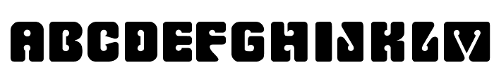 RomulanFake Font UPPERCASE