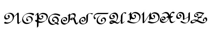 RondeAntique Font UPPERCASE
