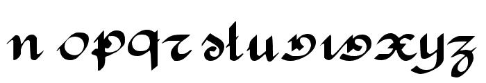 RondeAntique Font LOWERCASE