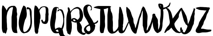 Roomfer Font UPPERCASE