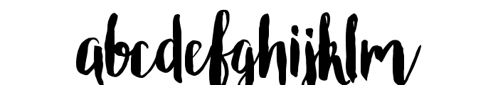Roomfer Font LOWERCASE