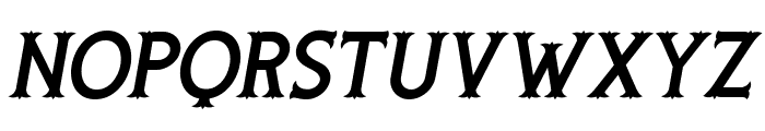 Rooters Italic Font LOWERCASE