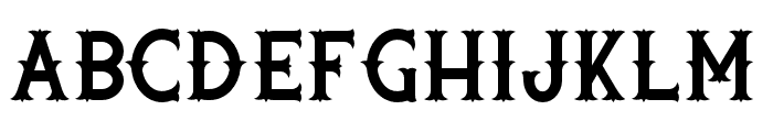 Rooters Font UPPERCASE