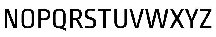 Ropa Sans Regular Font UPPERCASE