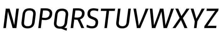 RopaSans-Italic Font UPPERCASE