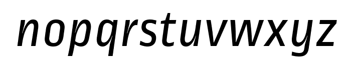 RopaSans-Italic Font LOWERCASE