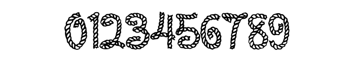 Rope MF Font OTHER CHARS