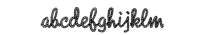 Rope MF Font LOWERCASE
