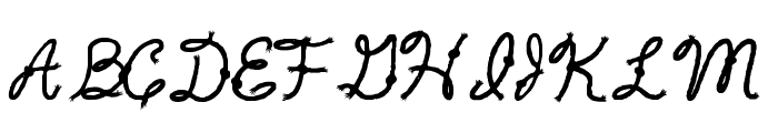 Rope5 Font LOWERCASE