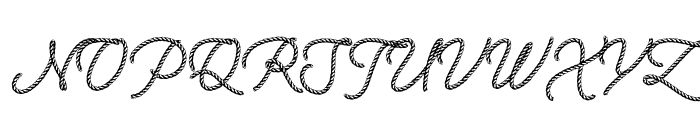 Ropest PERSONAL USE ONLY Font UPPERCASE