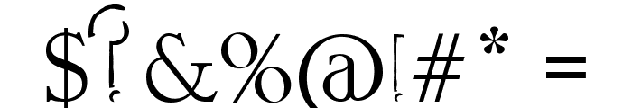 Rorific Font OTHER CHARS