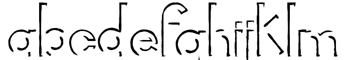 Rorific Font LOWERCASE