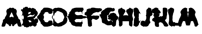 Rorschach Font LOWERCASE
