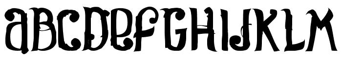 Rosa Font UPPERCASE