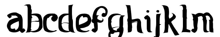 Rosa Font LOWERCASE