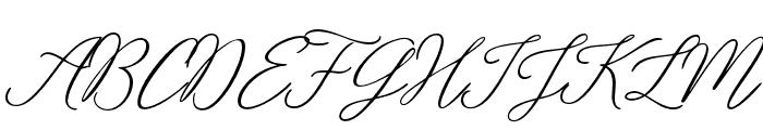 Rosabelia SLDT Font UPPERCASE