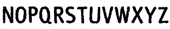 Rosango Bold Font UPPERCASE