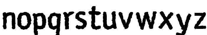 Rosango Bold Font LOWERCASE