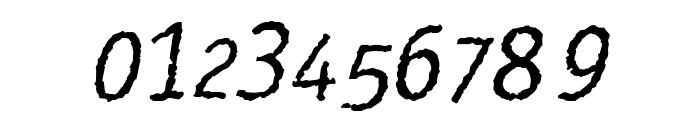 Rosango Italic Font OTHER CHARS