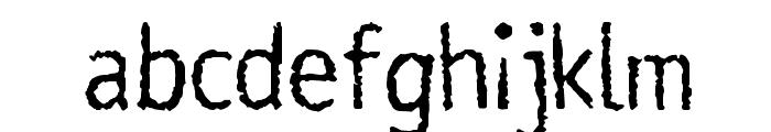Rosango Normal Font LOWERCASE
