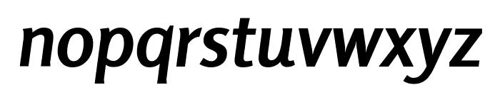 Rosario Bold Italic Font LOWERCASE