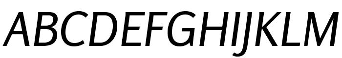 Rosario-Italic Font UPPERCASE