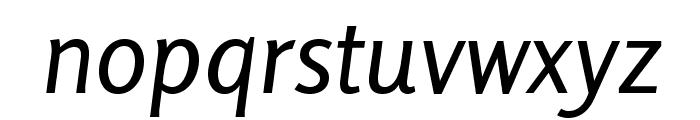 Rosario-Italic Font LOWERCASE