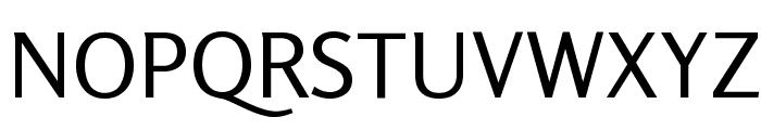 Rosario Regular Font UPPERCASE