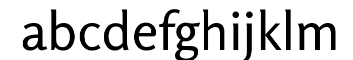 Rosario Regular Font LOWERCASE