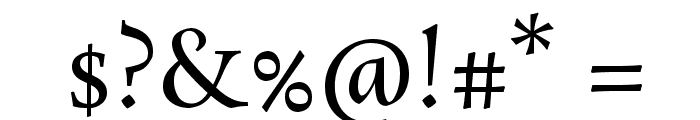 Rosarivo Font OTHER CHARS