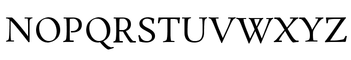 Rosarivo Font UPPERCASE