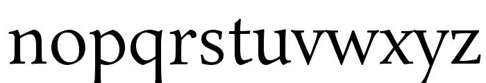 Rosarivo Font LOWERCASE