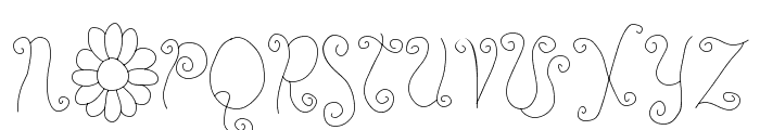 RoseWater Font UPPERCASE