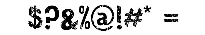 Rosebud Antique Font OTHER CHARS