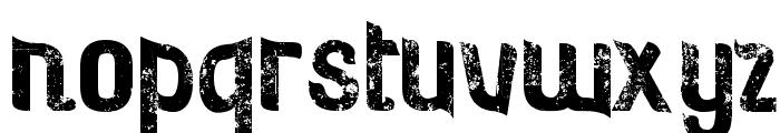 Rosebud Antique Font LOWERCASE