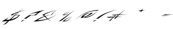 RosebudRegular Font OTHER CHARS