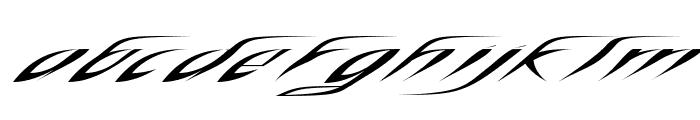 RosebudRegular Font LOWERCASE