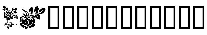 Rosegarden Font LOWERCASE