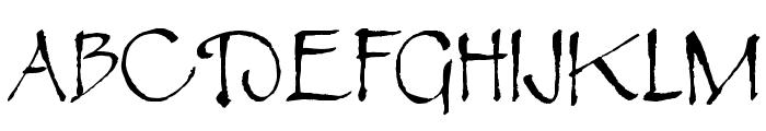 Rosemary Roman Font UPPERCASE