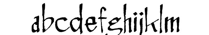 Rosemary Roman Font LOWERCASE