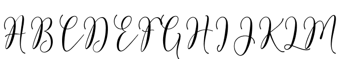 RoseticaScriptDemo Font UPPERCASE