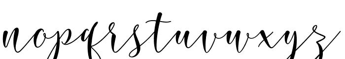 RoseticaScriptDemo Font LOWERCASE