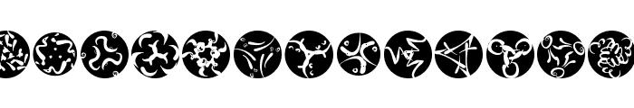 RosettaCalligraphiaOne Font UPPERCASE