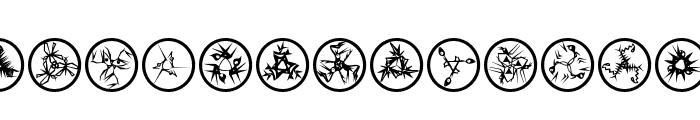 RosettaMutanta Font LOWERCASE
