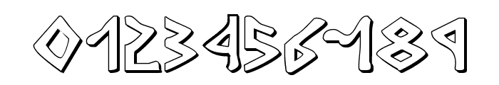 Rosicrucian 3D Font OTHER CHARS