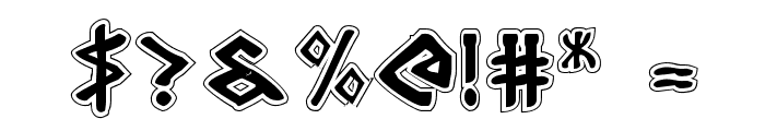 Rosicrucian Academy Font OTHER CHARS