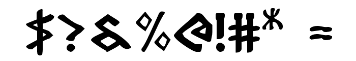 Rosicrucian Font OTHER CHARS