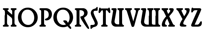 Roskell Font UPPERCASE
